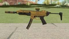 SMG Silenced V3 (Luxury Finish) GTA V for GTA San Andreas