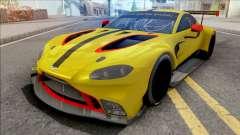 Aston Martin Vantage GTE 2018 for GTA San Andreas