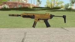 SMG Silenced V1 (Luxury Finish) GTA V for GTA San Andreas