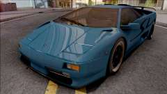 Lamborghini Diablo SV 1995 for GTA San Andreas