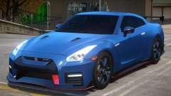 2018 Nissan GT-R Nismo v1.2 for GTA 4