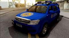 Toyota Fortuner Civilna Zastita for GTA San Andreas