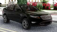 Ford Taurus SHO 2010 Black Original for GTA San Andreas
