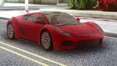 Saleen S5s Raptor 2010 Red for GTA San Andreas