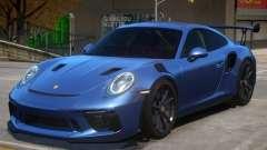 2018 Porsche 911 GT3 RS wheel black for GTA 4
