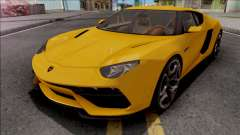 Lamborghini Asterion LPI 910-4 Concept 2015 for GTA San Andreas
