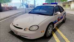 Ford Taurus 1996 Hometown Police for GTA San Andreas