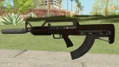 Bullpup Rifle (With Silencer V2) GTA V for GTA San Andreas