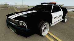 DeLorean DMC-12 Police 1981 for GTA San Andreas