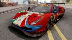 Ferrari 488 GTE Evo 2018 (AF Corse) PJ Preset 1 for GTA San Andreas