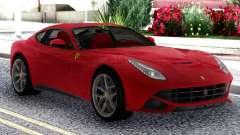 Ferrari F12 Berlinetta Red Original for GTA San Andreas