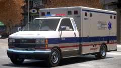 Ambulance Lancet Hospital for GTA 4