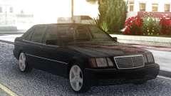 Mercedes-Benz S600 W140 Original Black for GTA San Andreas