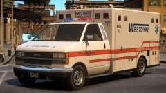 Ambulance Westdyke EMS for GTA 4