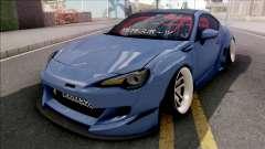 Subaru BRZ Blue for GTA San Andreas