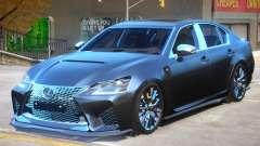 Lexus GS-F 2019 for GTA 4