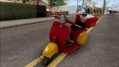 Piaggio Vespa VNB 125 Pizzaboy HQLM for GTA San Andreas
