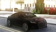 Audi TTS 2015 Black Edition for GTA San Andreas