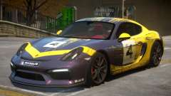 2015 Porsche Cayman Clubsport 2K for GTA 4