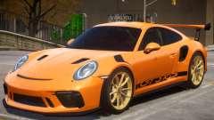 2018 Porsche 911 GT3 RS wheel gold for GTA 4