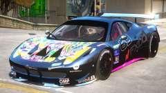 Ferrari 458 GT2 PJ3 for GTA 4