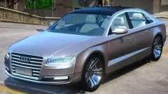 Audi A8 V2 for GTA 4