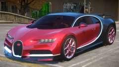 2017 Bugatti Chiron wheel red for GTA 4