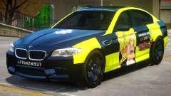 BMW M5 F10 PJ3 for GTA 4