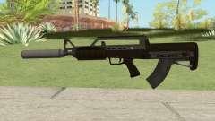 Bullpup Rifle (With Silencer V1) GTA V for GTA San Andreas