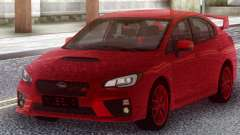 Subaru WRX STI 2017 Red Original for GTA San Andreas