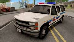 Chevrolet Suburban 1992 Hometown Police for GTA San Andreas