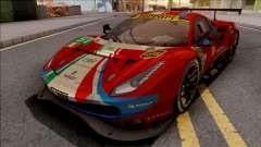 Ferrari 488 GTE Evo 2018 (AF Corse) PJ Preset 2 for GTA San Andreas