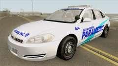 Chevrolet Impala 2012 (San Andreas Ambulance) for GTA San Andreas