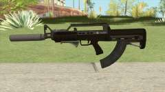 Bullpup Rifle (Three Upgrades V8) GTA V for GTA San Andreas