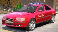Volvo S60 Police Syrian for GTA 4