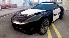 Invetero Coquette Police for GTA San Andreas
