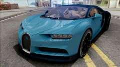 Bugatti Chiron 2017 Blue for GTA San Andreas