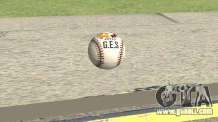 Baseball Ball From GTA V for GTA San Andreas