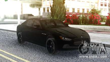 Maserati Ghibli S 2014 for GTA San Andreas