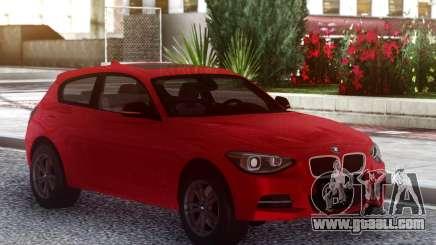 BMW M135i 2013 3 doors for GTA San Andreas