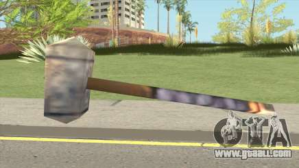 Arthas Hammer (Warcraft III RoC) for GTA San Andreas
