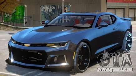 Chevrolet Camaro ZL1 V2 for GTA 4