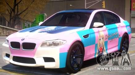 BMW M5 F10 PJ2 for GTA 4