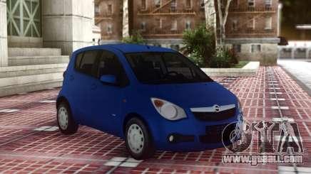 Opel Agila Compact for GTA San Andreas