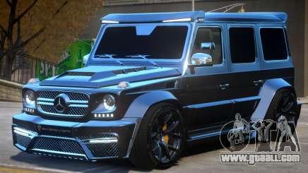 Mercedes Benz G7 Onyx for GTA 4