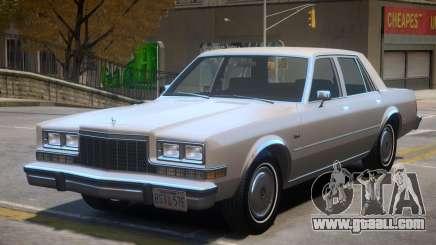 1983 Dodge Diplomat for GTA 4