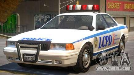Vapid Stanier Police V2 for GTA 4