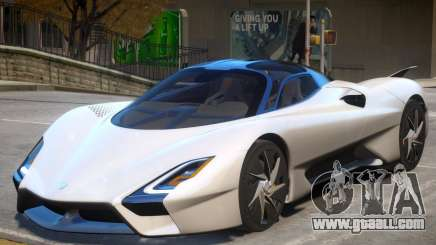 2019 SSC Tuatara for GTA 4