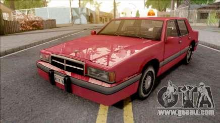 Bravado Empire 1991 for GTA San Andreas