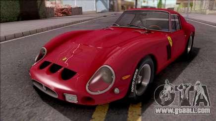 Ferrari 250 GTO 1962 Red for GTA San Andreas